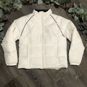 Vintage 90s Adidas Womens Down Filled Puffer Coat